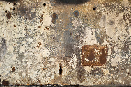 dirt background: rust metal wall grunge texture old and dirt background material Stock Photo