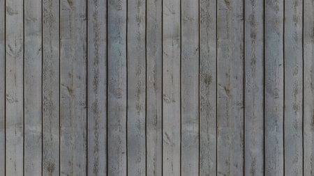 Seamless pattern of dark-colored vertical wooden panels that connect perfectly in an old-fashioned style Stock Photo