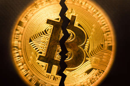 Bitcoin halving. Block reward gets cut in half every four years for miners.