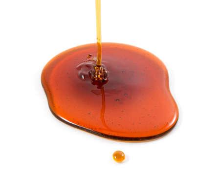 Honey isolated on white background.