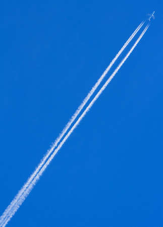Airplane with white tail Banco de Imagens - 567876