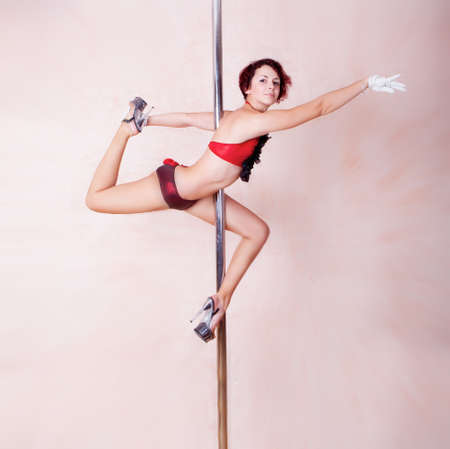 poledance: Pole-dance figure