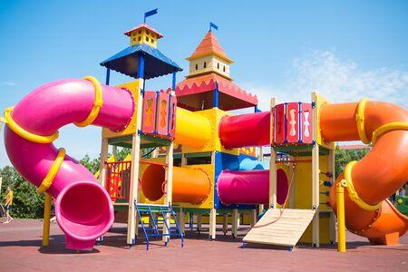 Wood baby playground