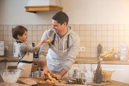 아버지와 그의 아들 요리