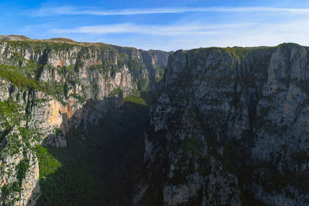 A view to the deepest Gorge on Earth. 스톡 콘텐츠