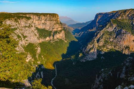 A Focus Stack of Vikos Gorge. Фото со стока