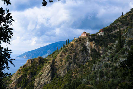 Mt. Athos Peninsula is home to 20 Monasteries under the direct jurisdiction of the Ecumenical Patriarch of Constantinople,and is an autonomous Polity within the Greek Republic.