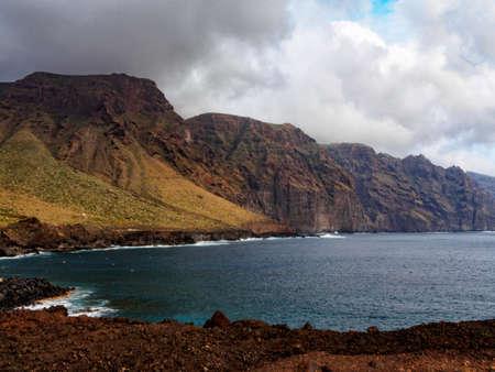 Cliffs of Punta de Teno on Tenerife