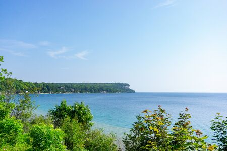 Lion's head on the bruce peninsula in Northern Ontario