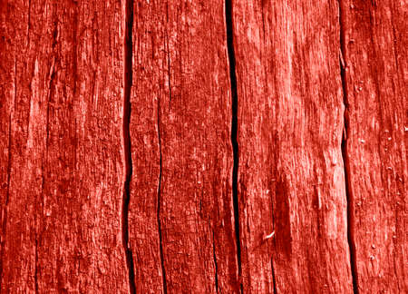 Coral color planked wood texture. Surface of wood plank background. Wooden background. Trendy background.