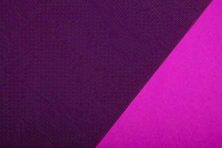 Abstract geometric paper background. Purple, pink and violet trendy colors. Geometric vibrant colors textured flat lay. Stockfoto
