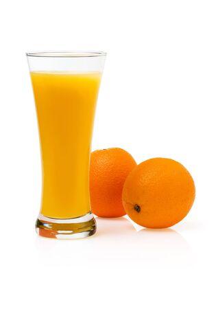 Fresh orange Juice and Fruit. photo