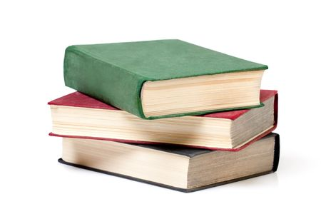 reading material: A stack of reading material Stock Photo