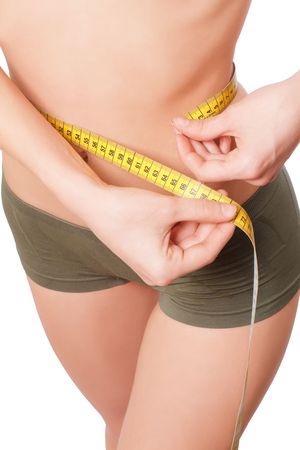 Woman body is being measured Stock Photo - 6854627