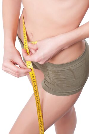 Woman body is being measured Stock Photo - 7235454