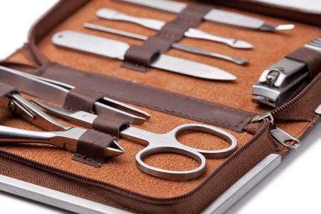 Tools of a manicure set photo