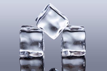cubos de hielo: cubos de hielo