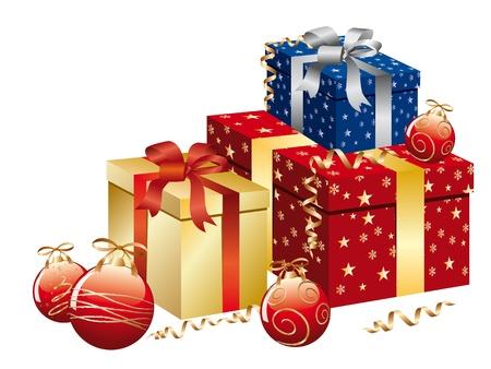 caja navidad: Cuadro de Navidad en multicolores.
