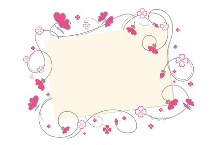greeting card. Vector