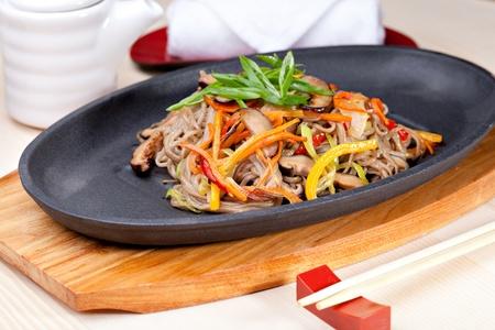 soba: Yasai Soba,  japanese cuisine