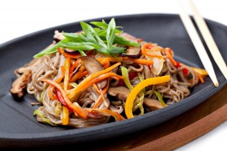 chinese noodle: Yasai Soba,  japanese cuisine