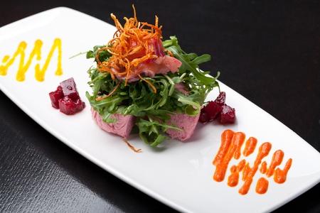 starter: Salmon mousse
