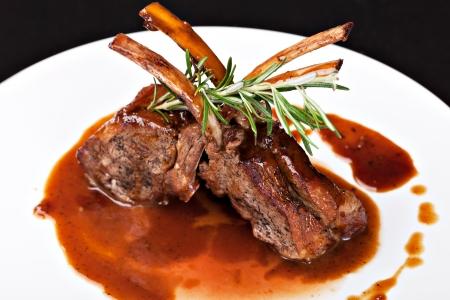 mutton: Roasted Lamb Chops