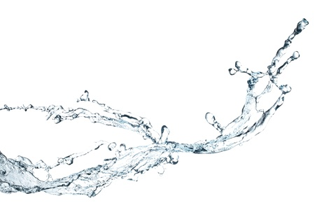 water splash isolated on white background: water splash isolated on white background