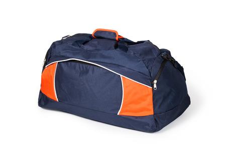 travel bag on a white background Reklamní fotografie