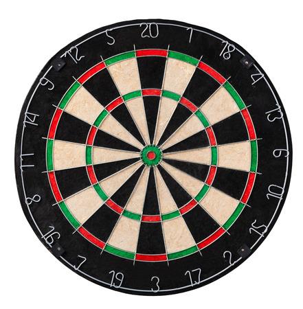 DARTS: Dart board. Close up picture Stock Photo