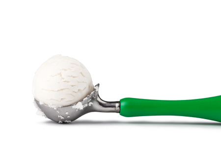 ice cream scoop: ice cream scoop isolated on white background
