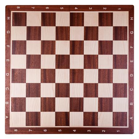 古い木製のチェス盤