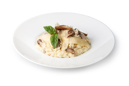 risotto with porcini mushroom and parmesan