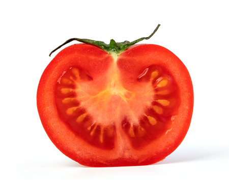 tomato cherry isolated on white background Stock Photo