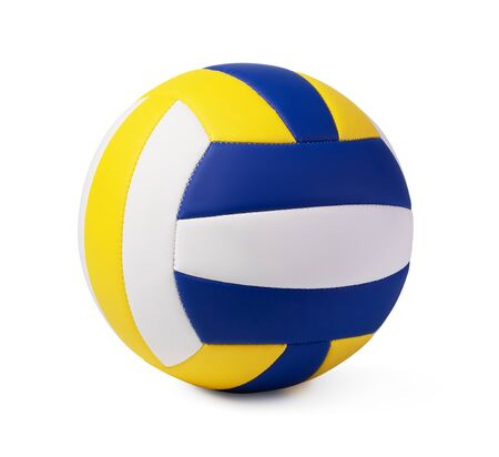 Volleyball Ball Isolated on White Background Standard-Bild