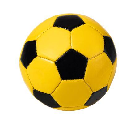 football ball, isolated on white Stockfoto