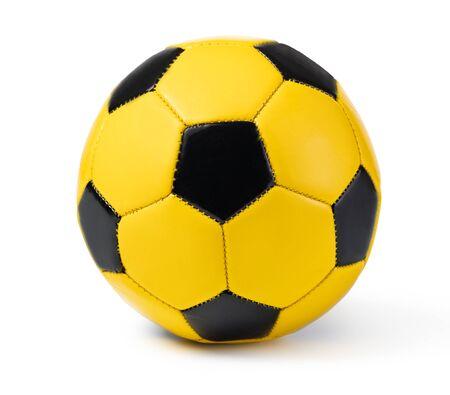 football ball, isolated on white Stockfoto - 128846367