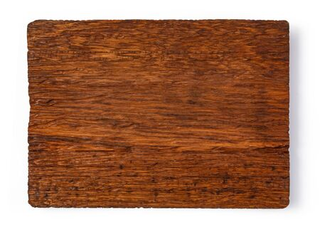 wood cutting board isolated on white background Stock fotó