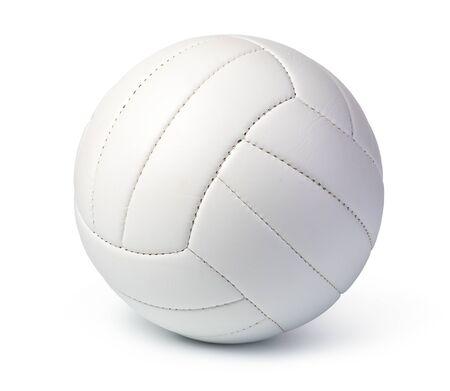 Pelota de voleibol aislado sobre fondo blanco.