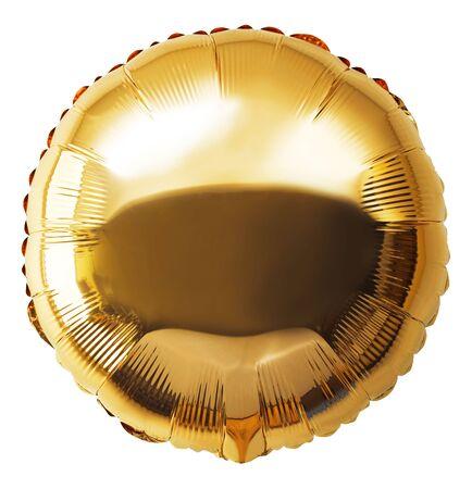 Numéros de ballons isolés sur blanc Banque d'images