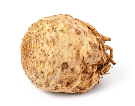 Celery root isolated on white background Stock fotó