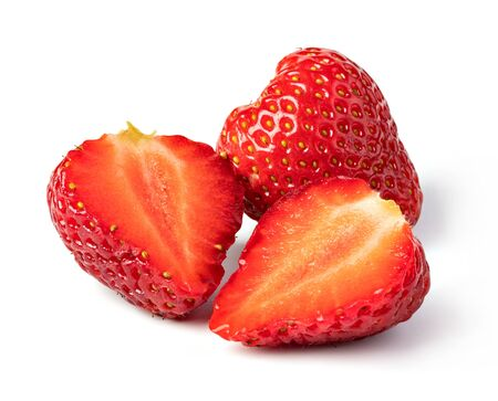 Strawberry isolated on a white background Stockfoto
