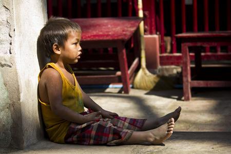 Child solitude, poverty trough a child s eye