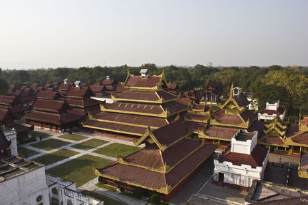 monarchy: The Mandalay Palace, located in Mandalay, Myanmar, is the last royal palace of the last Burmese monarchy  The palace was constructed, between 1857 and 1859 as part of King Mindon Editorial