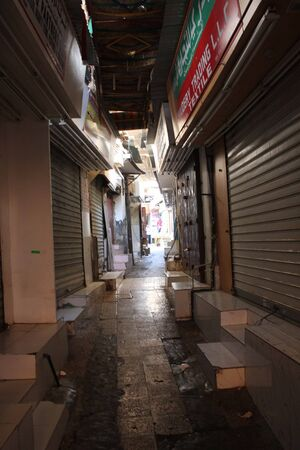 souq: Closed Souq by Night Editorial