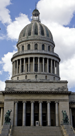 capitolio: El Capitolio, or National Capitol Building in Havana, Cuba, was the seat of government in Cuba until after the Cuban Revolution in 1959, and is now home to the Cuban Academy of Sciences