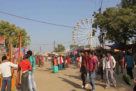 Pushkar, India: People at Pushkar Fair. The Pushcar Camel Fair, held each november, Pushkar Camel Fair is one of Indias most highly-rated travel experiences