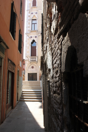 glimpse: Glimps of an unknown Venice, with its little canals and streets Editorial