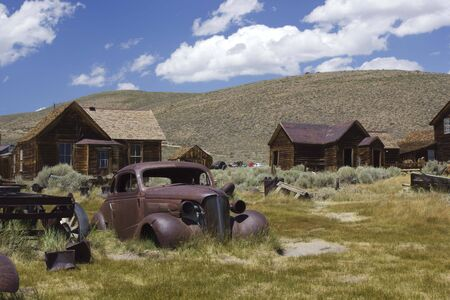Bodie, California (USA): Bodie is the best preserved ghost town in California, an original mining town from the late 1800 photo