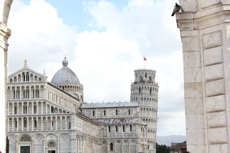 leaning tower of pisa: Piazza dei Miracoli and Pisa Leaning Tower